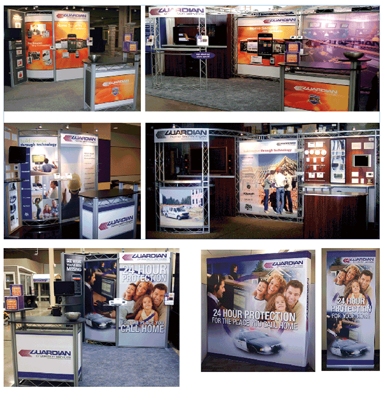 Guardian tradeshow booths