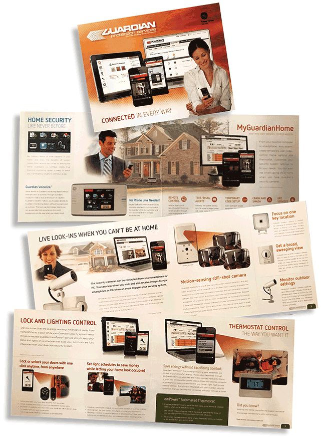 Guardian Protection product and service brochure
