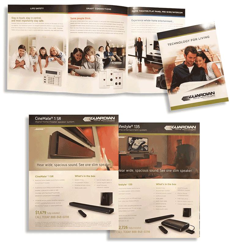 Guardina Protection Brochure and flyers