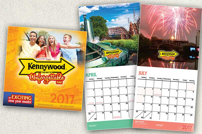 Kennywood Calendars 2017