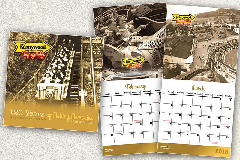Kennywood Calendars 2018
