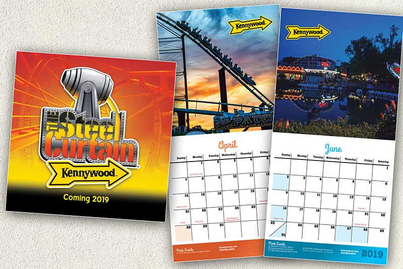 Kennywood Calendars 2019