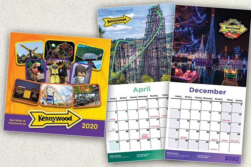 Kennywood Calendars 2020